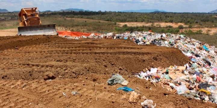 aterro sanitário e compostagem